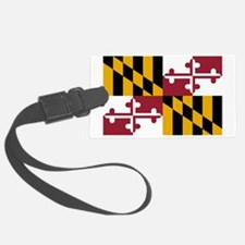 Maryland State Flag Luggage Tag