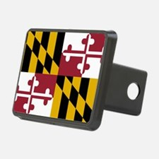 Maryland State Flag Hitch Cover