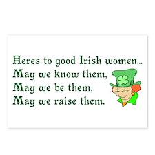 Irish Women Postcards (Package of 8)