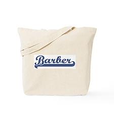 Barber (sport-blue) Tote Bag