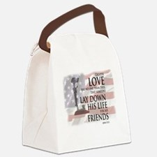 Unique Memorial day Canvas Lunch Bag