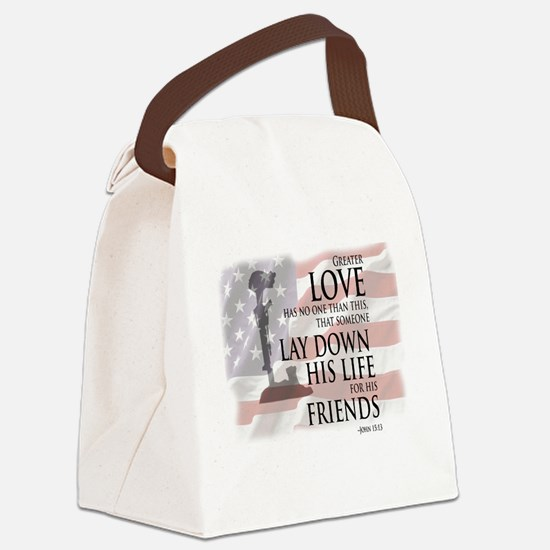 Cool Military Canvas Lunch Bag