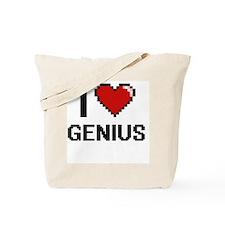 I love Genius Tote Bag