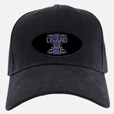 Men's Funny 80th Birthday Baseball Hat