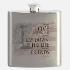 Cute Patriotic Flask