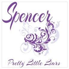 Spencer Pretty Little Liars Framed Print