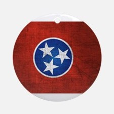 Tennessee State Flag Ornament (Round)