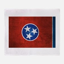 Tennessee State Flag Throw Blanket