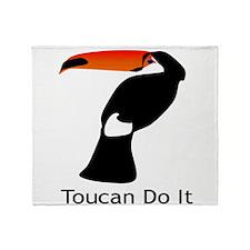 Toucan Do It Throw Blanket