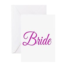 Bride Greeting Cards