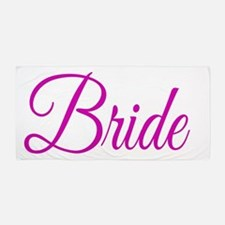 Bride Beach Towel