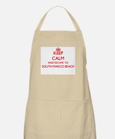 Keep calm and escape to South Marco Beach Fl Apron