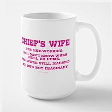 Chief's Wife Mugs