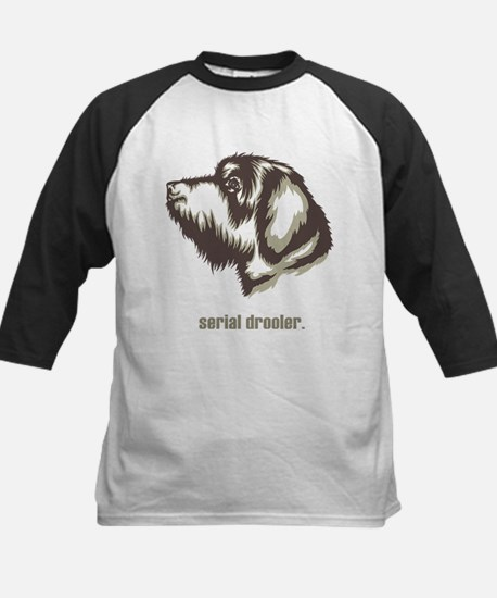 Wirehaired Pointing Griffon Kids Baseball Jersey