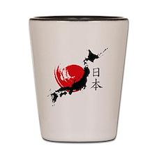 Unique Kyoto Shot Glass