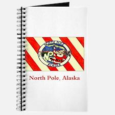 North Pole AK Flag Journal