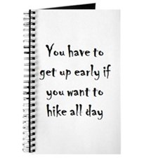 early to hike Journal