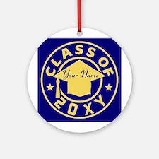 Class of 20XX Graduation Ornament (Round)