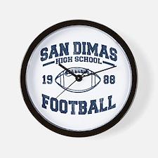 SAN DIMAS HIGH SCHOOL FOOTBALL Wall Clock