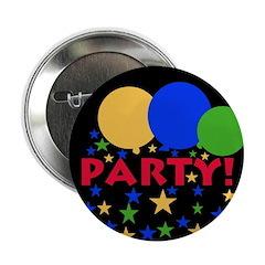 Balloons Party Button