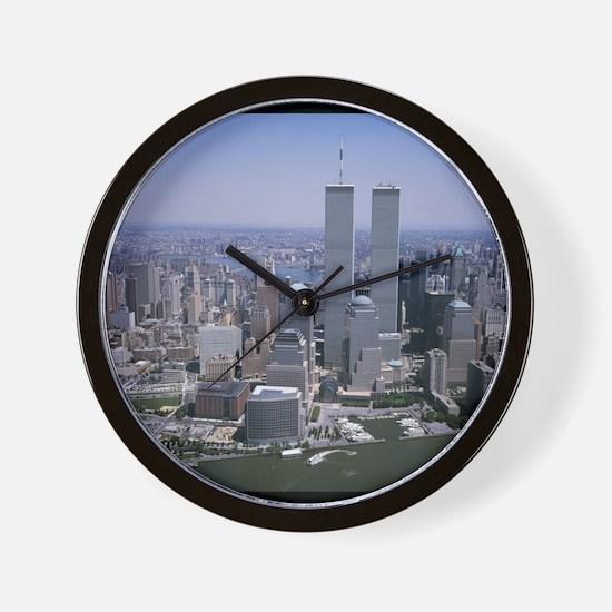 Cute New york city streets Wall Clock