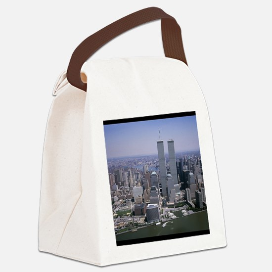 Cute New york city streets Canvas Lunch Bag