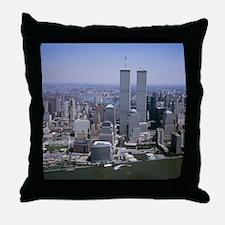 Unique World trade center Throw Pillow