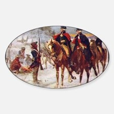 Cute Valley forge Sticker (Oval)
