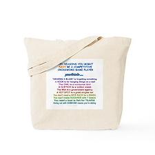 """""""ten reasons"""" Tote Bag"""