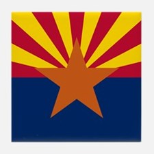 ARIZONA STATE FLAG Tile Coaster