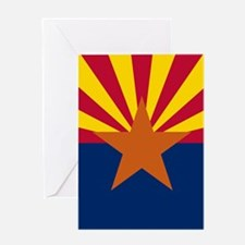 ARIZONA STATE FLAG Greeting Cards