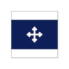 """Cute Protestant Square Sticker 3"""" x 3"""""""