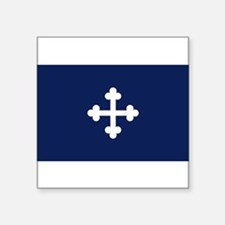 "Unique Bonnie blue Square Sticker 3"" x 3"""