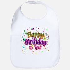 Happy Birthday To You Bib