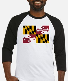 Maryland State Flag Baseball Jersey