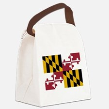 Maryland State Flag Canvas Lunch Bag