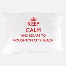 Keep calm and escape to Houghton City Pillow Case