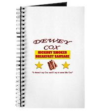 Dewey Cox - Breakfast Sausage Journal