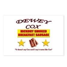 Dewey Cox - Breakfast Sausage Postcards (Package o