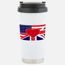Cute American wife Travel Mug