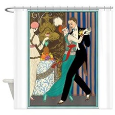 Slice of Life Tango Shower Curtain