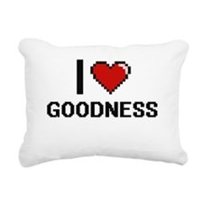 I love Goodness Rectangular Canvas Pillow