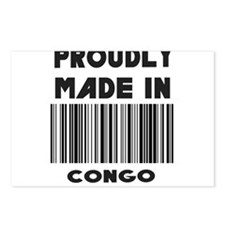 Proudly Made in Congo Postcards (Package of 8)