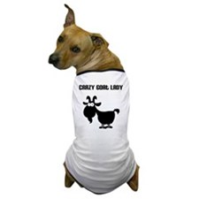 Crazy Goat Lady Dog T-Shirt