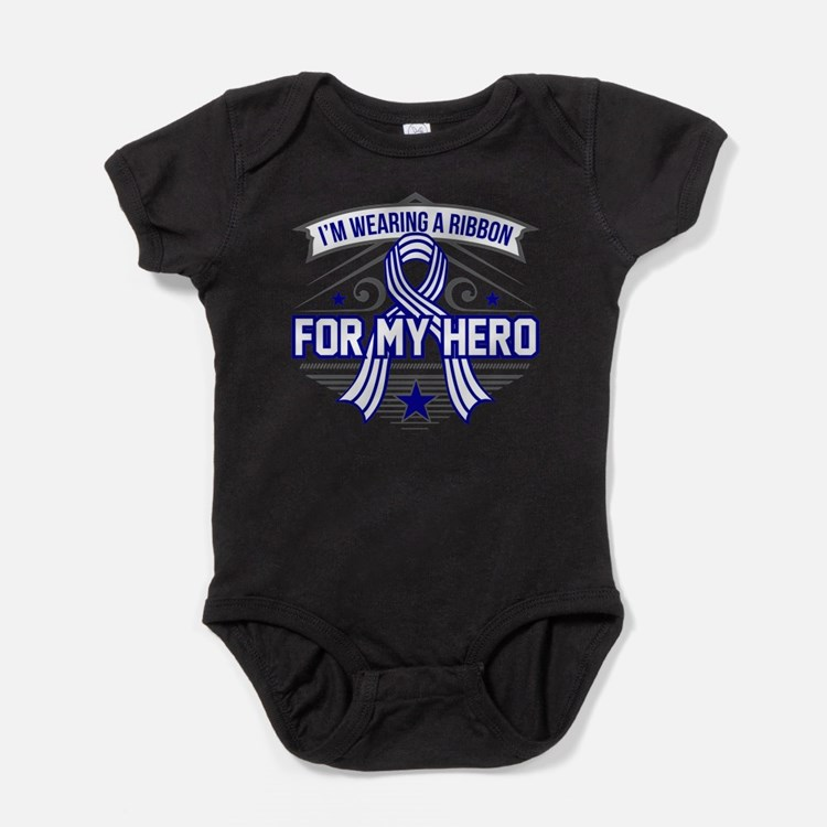 ALS For My Hero Baby Bodysuit