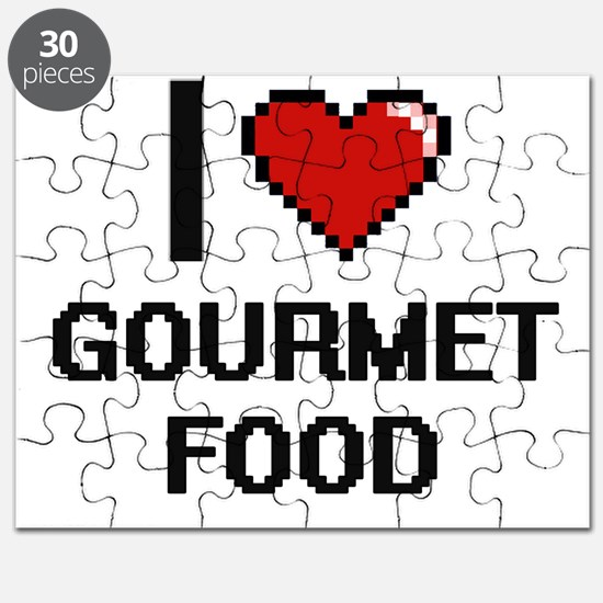 I love Gourmet Food Puzzle