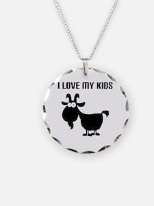Love Goat Kids Necklace