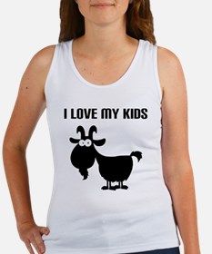 Love Goat Kids Women's Tank Top