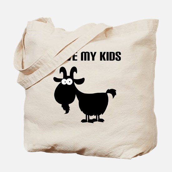Love Goat Kids Tote Bag