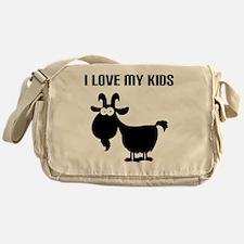Love Goat Kids Messenger Bag